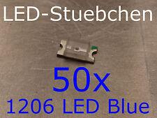 50x 1206 LED Blau
