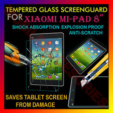 "ACM-TEMPERED GLASS SCREENGUARD for XIAOMI MI-PAD 8"" MIPAD TAB SCRATCH PROTECTOR"