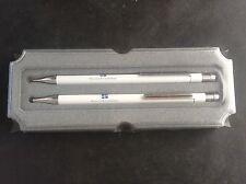 Cased Pen & Pencil Set by CALIBRI Collectable Advertising Harrison's & Crosfield