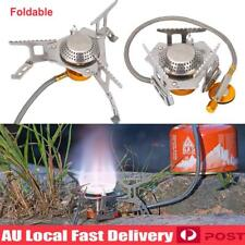 Outdoor Picnic Gas Jet Portable Stove Burner Cooking Hiking Camping Cooker Gear