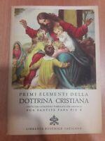 AA.VV 1949 VATICANA Primi Elementi Della Dottrina Cristiana