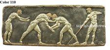 Relief Wandrelief Bild Wandbild Antike Ringkampf Sport  2645 / Mater.: Stuckgips
