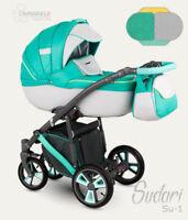 CAMARELO Sudari 2in1 Stroller Pushchair Pram Sport seat FREE SHIPPING
