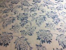 "3 yards x 54""  Trend Floral Botanical Home Decorator Fabric"