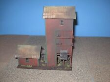 Life-Like HO Scale Coaling Tower.  Custom Built, Weathered & Detailed