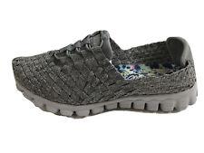 Skechers  Memory Foam Women Gray Sneaker Shoe Size 7 M Pre Owned