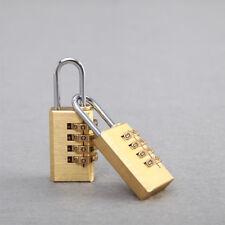 Security Tool Mini Brass Combination Lock Padlock Password Lock Password Code