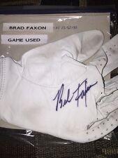 Pga Brad Faxon Autograph Game Used Golf Glove