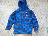 Columbia Omnitech Outgrow Winter Jacket Blue/ Orange Boy's size Medium
