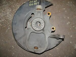 JAGUAR XJ8 VANDEN PLAS 1998-1999-2000-01-2002-2003 RIGHT FRONT SPINDLE WHEEL HUB