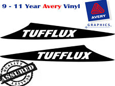 TUFFLUX Decal Sticker For HILUX 3 Fin Large Bonnet Scoop 2012 to Current 4X4