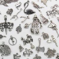 Wholesale Jewelry Charms Pendants DIY For Bracelet Earrings Necklace 77 Styles