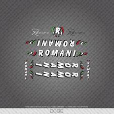 0663 Romani Tubo de marco de la Bicicleta Pegatinas-Calcomanías-Transfers