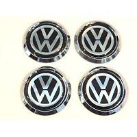 VW BUG EMBLEM Wheels Logo BEETLE TYPE1 Circle Round Volkswagen 51mm Resin 4pcs
