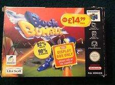 NINTENDO 64 N64 RETRO GAME / BUCK BUMBLE / BOXED / COMPLETE / PAL