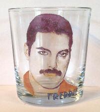 QUEEN Freddie Mercury FRUIT JUICE/WHISKY GLASS whiskey col