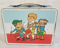 Vintage Little Patriots Metal Lunchbox 1974 Ohio Arts