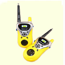2Pcs Mini Walkie Talkie Kids Electronic Toys Portable Two-Way Radio Set Hoc