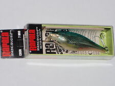 Rapala CDSR 7 Shallow Shad Rap Sinking Discontinued Blue Roach Old Stock