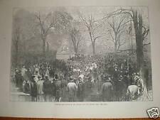 Revelan Walter Scott estatua Central Park New York 1872