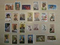 A group of  26  Black Americans  stamps black heritage mint NH OG