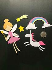 1 Fairy Set Premade PAPER Die Cuts / Scrapbook & Card Making