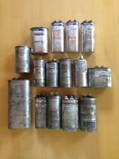Lot of 15 MotorRun Oval Round Capacitors, GE Toptech Amrad