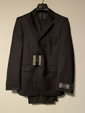 HART SCHAFFNER MARX Boys Suit Size 12 R, Black, Brand New With Tags, $275