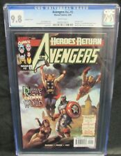 Avengers #v3 #2 (#417) (1998) Mordred Morgan Le Fay Appearance CGC 9.8 Y581