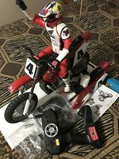New ListingRadio Shack Ricky Carmichael 60-4353 1/5 1/6 Scale Rc Dirt Bike Rtr With Extras!