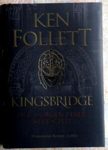 BÜCHER- KEN FOLLETT - KINGSBRIDGE - DER MORGEN EINER NEUEN ZEIT - NEUWERTIG
