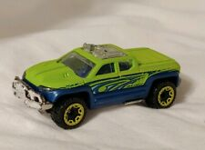 Near Mint 2013 Hot Wheels Off Duty Green with Clear Roof