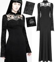 Robe gothique lolita victorienne baroque dentelle broderie manche évasé Punkrave