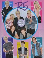 R5 - A2 Poster (XL - 40 x 52 cm) - Ross Lynch Fan Sammlung Clippings Ausland