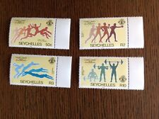Seychelles 1984 Olympic Games Complete Set Of Four. SG 592-5. Unmounted Mint