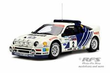 Ford rs 200-RAC Rally 1986-blomqvist/Berglund - 1:18 Otto Mobile ot 679