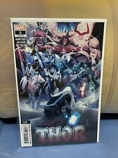 Thor #5 (2020, Marvel) 1st Black Winter Low Print 2nd Print  Donny Cates