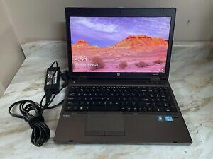 """HP ProBook 6560b 15.6"""" Intel i5 2.60Ghz 1TB HDD 6GB Ram W10  WORKS! AS IS READ!"""