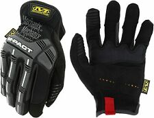 Mechanix Wear M-Pact OPEN CUFF Work Gloves BLACK (choose size)