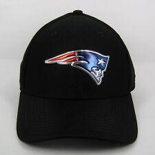 653a9585124 New Era Men s NFL New England Patriots Black Collection 3930 Stretch Cap ...