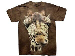 The Mountain Giraffe Mens T Shirt Size M 2012 Made in USA
