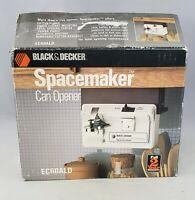 Black & Decker Spacemaker Can Opener EC60CALD Vintage New In Open Box