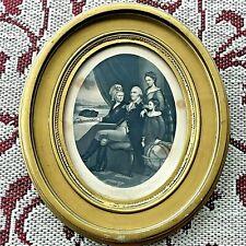 "Antique Framed George ""WASHINGTON FAMILY"" by F. Schell, A.B. Walter, John Dainty"