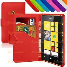 LIBRO PU Funda Cartera Plegable Piel Funda para Nokia Lumia 520