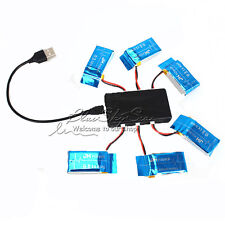 6pcs 3.7V 800mAh Battery+6in1 Charger Kit For Syma X5C-1 X5SW X5SC RC Quadcopter