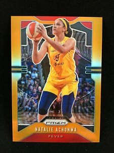 Natalie Achonwa 2020 WNBA Prizm Orange /65 #11 Indiana Fever
