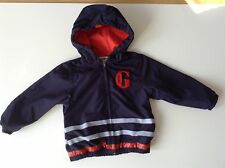 Pre-Loved 100% Auth Jean Paul Gaultier, Baby Boy Jacket With Logo. 12 Months