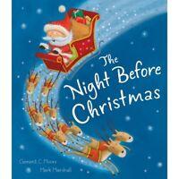 Preschool Christmas Story Book -  THE NIGHT BEFORE CHRISTMAS Story Book - NEW T