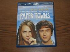 Paper Towns (Blu-ray/DVD, 2015, 2-Disc Set)