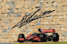 Louis Deletraz SIGNED Fortec Motorsport Formula 3.5 V8 , Aragon Motorland 2016